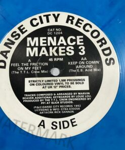 Feel The Friction On My Feet - Menace Makes 3