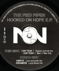 Hooked On Hope EP - The Pied Piper