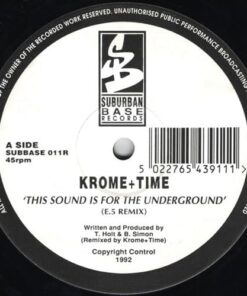 This Sound Is For The Underground (Remix) - Krome & Time