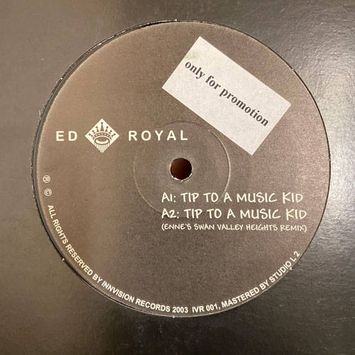 Tip To A Music Kid - Ed Royal