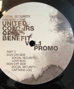 United Colours Of Benefit Vol 2 - Social Security (Promo)