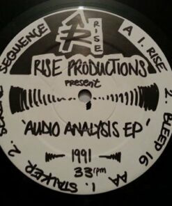 Audio Analysis EP - Rise Productions