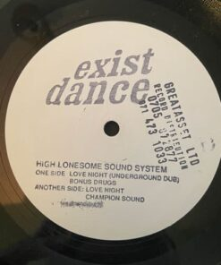 Love Night - High Lonesome Sound System (W/Label)