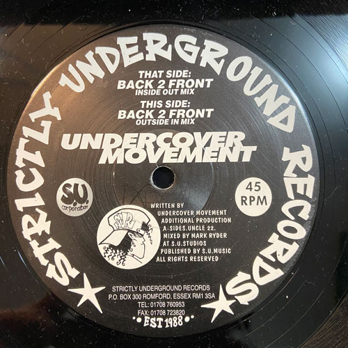 Back 2 Front - Undercover Movement