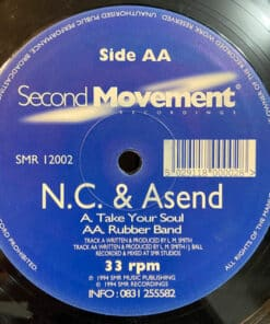 """Take Your Soul / Rubber Band - N.C. & Asend (10"""")"""