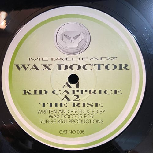 Kid Caprice / The Rise - Wax Doctor