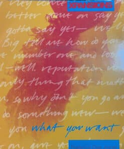 """What You Want - Xpansions ( 7"""" Vinyl )"""
