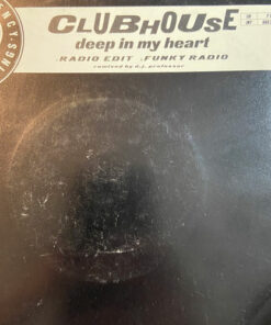"""Deep In My Heart - Clubhouse (7"""" Vinyl)"""