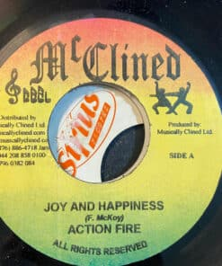 """Joy And Happiness - Action Fire (7"""" Vinyl)"""