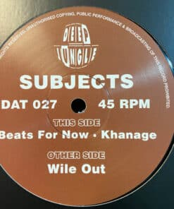 Wile Out / Beats For Now / Khanage - Subjects